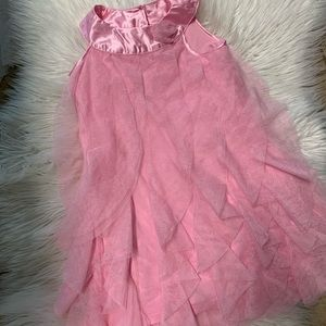 Easter Girls pink tule dress size 5T